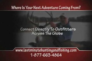 Last Minute Hunting and Fishing Youtube Commercial